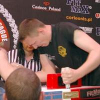 V Mistrzostwa woj. Pomorskiego # Siłowanie na ręce # Armwrestling # Armpower.net