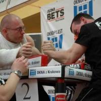 VII Mistrzostwa Polski - Wołomin 2007 - Lewa ręka # Siłowanie na ręce # Armwrestling # Armpower.net