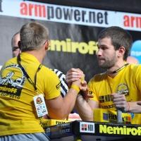 Nemiroff 2010 - Right Hand # Siłowanie na ręce # Armwrestling # Armpower.net