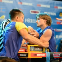 World Armwrestling Championship for Disabled 2014, Puck, Poland - left hand # Armwrestling # Armpower.net