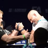 XV MISTRZOSTWA POLSKI - LEWA RĘKA # Armwrestling # Armpower.net