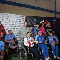 Anna Mazurenko with competitors - Disabled World Cup 2017 # Siłowanie na ręce # Armwrestling # Armpower.net