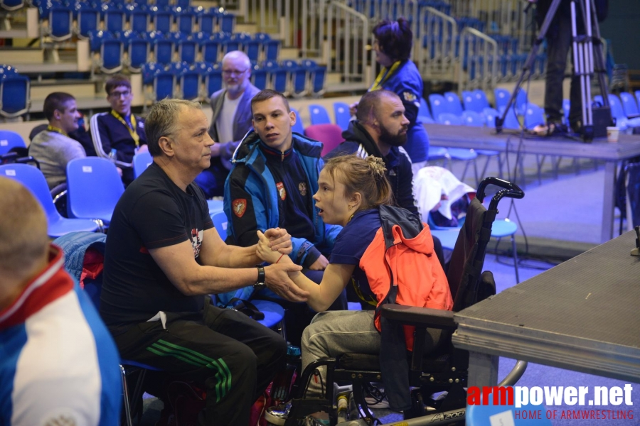 Disabled World Cup 2018 - day1 # Armwrestling # Armpower.net