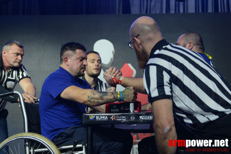 Disabled World Cup 2018 - day1 # Siłowanie na ręce # Armwrestling # Armpower.net