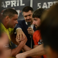 TOP-8 Press Conference # Armwrestling # Armpower.net